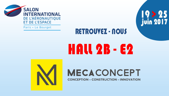Mecaconcept au salon du bourget siae 2017 - Salon aeronautique du bourget ...