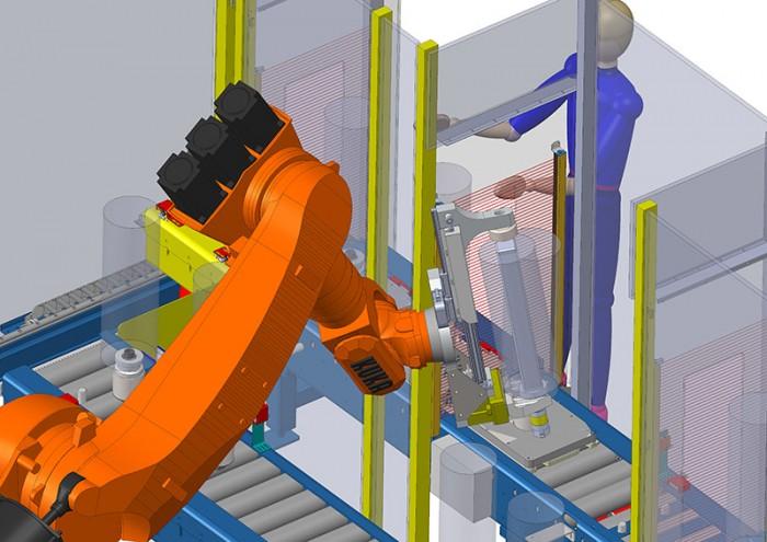 CAO robotisation avec solidworks par MECACONCEPT