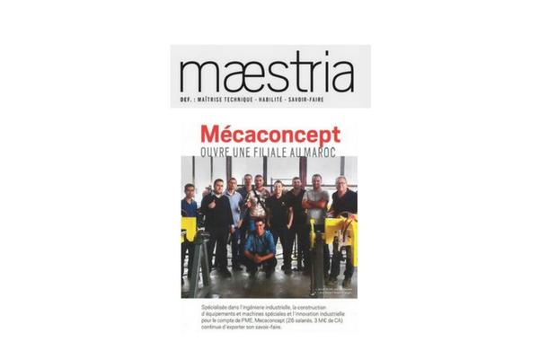 article de presse Mecaconcept dans le magazine économique