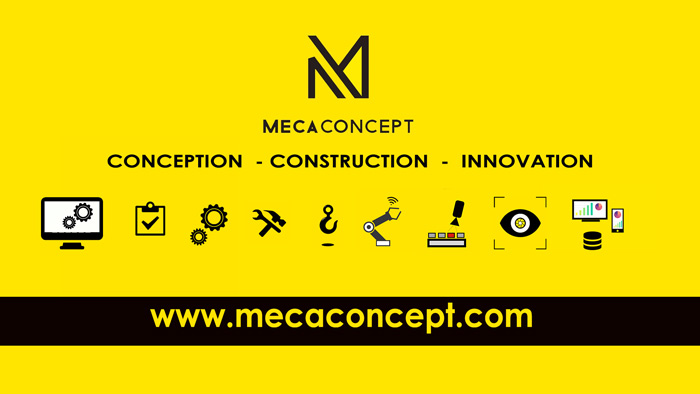 construire l'industrie de demain avec Mecaconcept intégrateur automatisme, robotique, vision et superivision