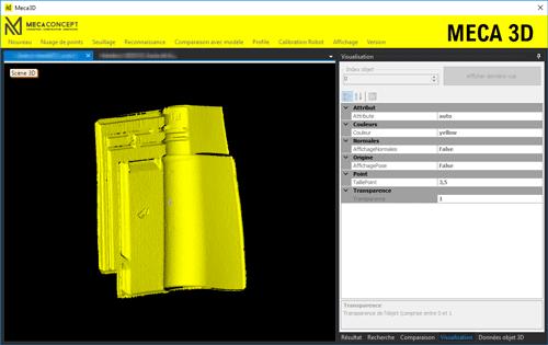 contrôle vision - système de vision 3D par Mecaconcept , ingénierie industrielle en Auvergne Rhône Alpes