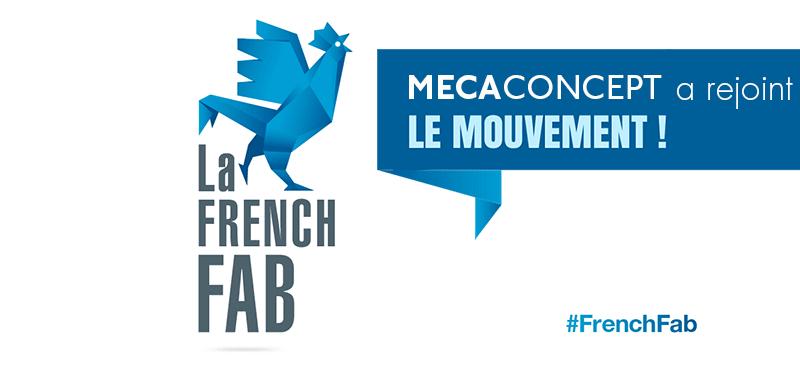 Mecaconcept a rejoint le mouvement French Fab