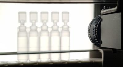 solutions de contrôle qualité par caméra -secteur pharmacie par Mecaconcept