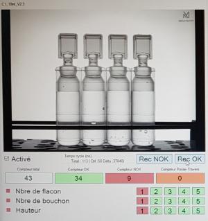 contrôler et évaluer la qualité du marquage datamatrix selon les normes d'évaluations européennes - Mecaconcept intégrateur en vision industrielle en Rhône Alpes