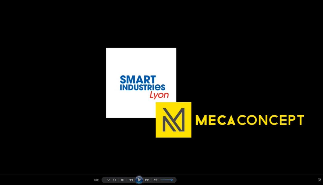 Mecaconcept exposant salon smart industries lyon 2019
