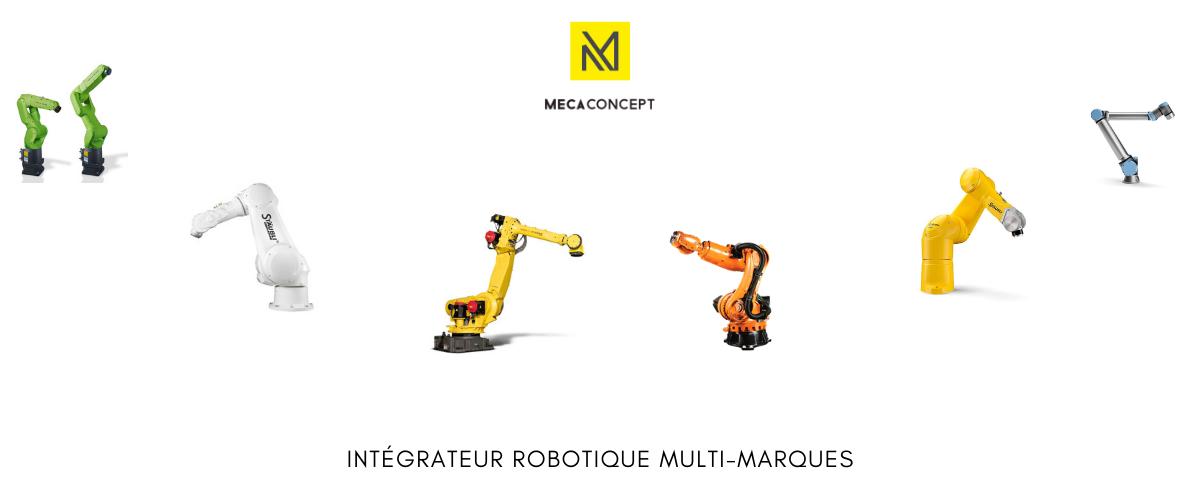 mecaconcept intégrateur robotique industriel st Etienne - Rhone Alpes