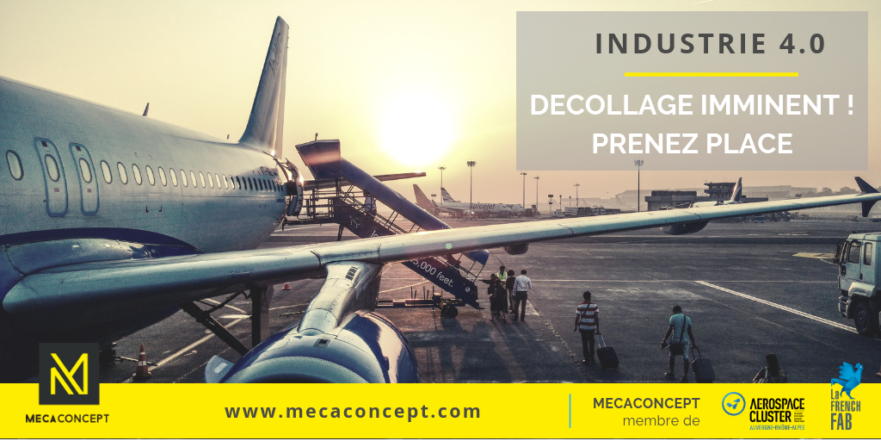 industrie 4.0 et supply chain aéronautique selon mecaconcept société d'ingénierie industrielle en auvergne rhone alpes