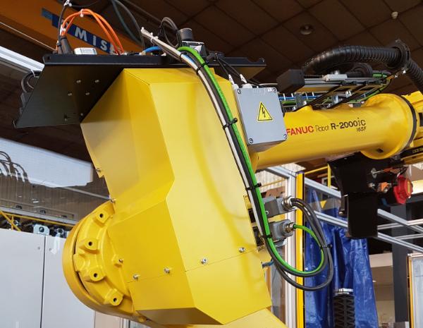 automatisation de procédé de fabrication par robot  Fanuc- mecaconcept