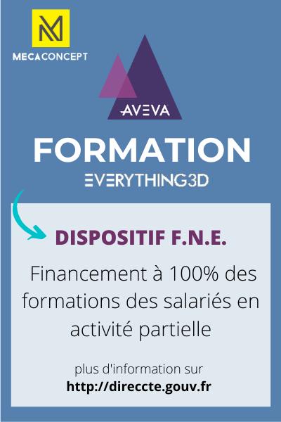 FNE formations AVEVA E3D2.1 par Mecaconcept